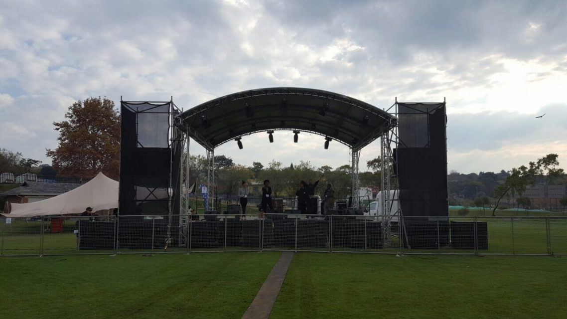outdoor event production