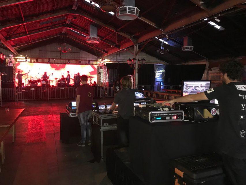 sound hire at at saturday social club johannesburg