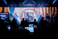 Live performance solutions - band event