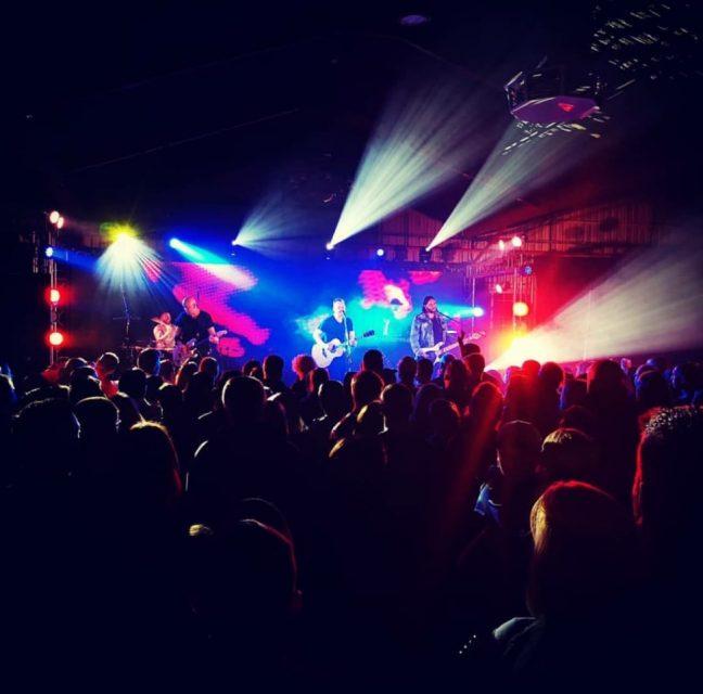 live event lighting and sound
